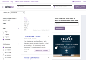 Jobsora collabora con Studeo Academy